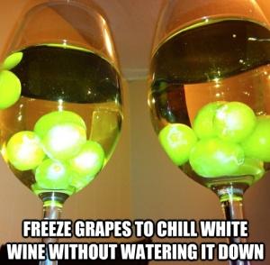 freeze grapes